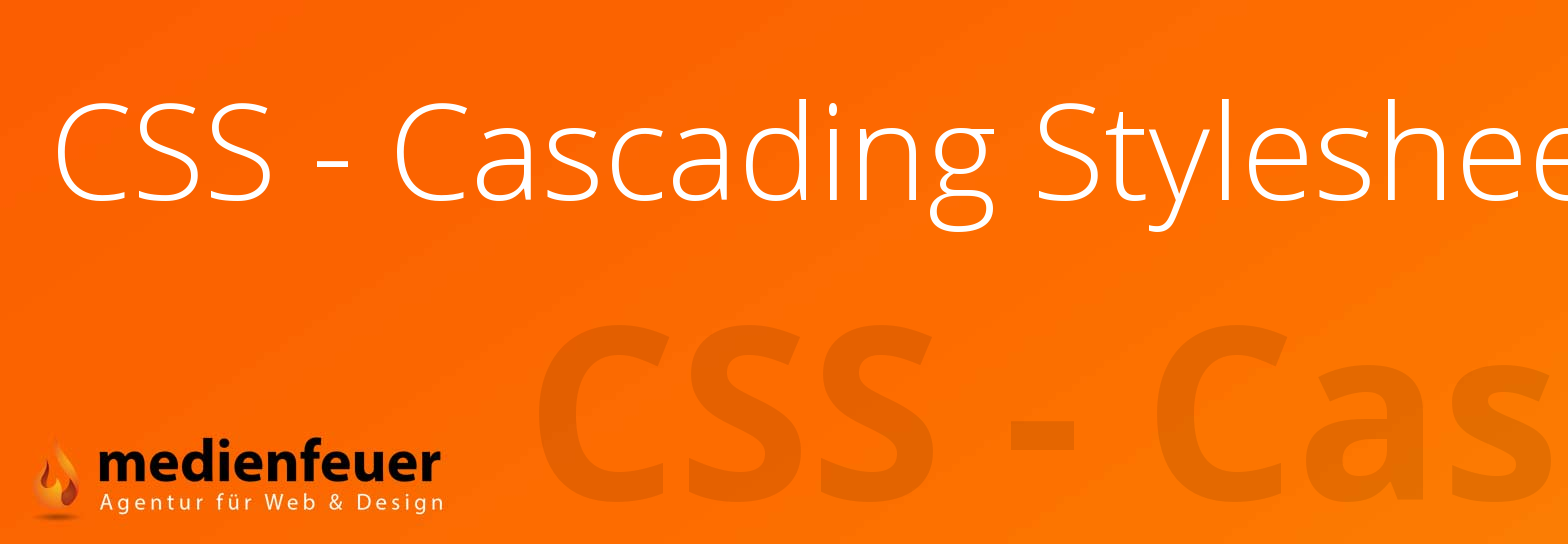 CSS - Cascading Stylesheets Bottrop