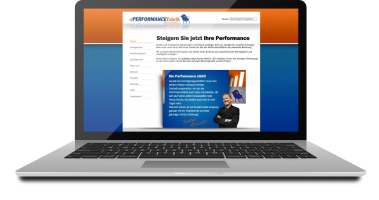 Performancefabrik Website